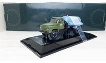 Горьковский грузовик тип АНМ-53А Ассенизаторная машина (1971), хаки / голубой, масштабная модель, ГАЗ, DiP Models, scale43