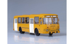 Автобус ЛиАЗ-677М охра SSM, масштабная модель, Start Scale Models (SSM), 1:43, 1/43