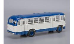 Автобус ЛиАЗ-158В бело-синий КБ, масштабная модель, Classicbus, 1:43, 1/43