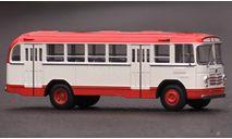 Автобус ЛиАЗ-158В бело-красный КБ, масштабная модель, Classicbus, 1:43, 1/43