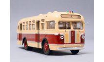 Автобус ЗиС-155 бежево-красный КБ, масштабная модель, Classicbus, scale43