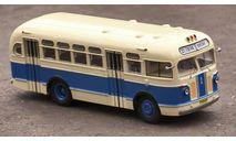 Автобус ЗиС-155 бежево-синий (2-й выпуск) КБ, масштабная модель, Classicbus, 1:43, 1/43