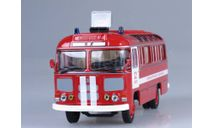Автобус ПАЗ-672М пожарный штабной, масштабная модель, Советский Автобус, scale43