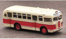 Автобус ЗиС-155 бежево-красный (2-й выпуск) КБ, масштабная модель, Classicbus, 1:43, 1/43