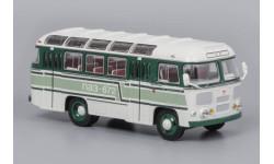 Автобус ПАЗ-672 белый с зелеными полосами, масштабная модель, Classicbus, 1:43, 1/43