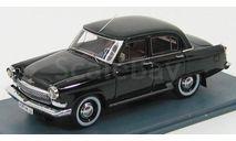 Волга ГАЗ-21 черная NEO, масштабная модель, Neo Scale Models, 1:43, 1/43