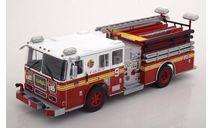 SEAGRAVE - PUMPER TRUCK FIRE DEPARTMENT NEW YORK, масштабная модель, Altaya, 1:43, 1/43