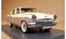Волга ГАЗ-M21 бело-серая NEO, масштабная модель, Neo Scale Models, 1:43, 1/43