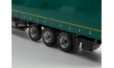 Полуприцеп НефАЗ-93341 зелёный, масштабная модель, Автоистория (АИСТ), 1:43, 1/43