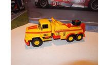 КрАЗ-260 БРО-200 желто-красный, масштабная модель, Наш Автопром, 1:43, 1/43