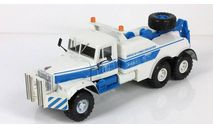 КрАЗ-255Б БРО-200 бело-голубой, масштабная модель, Наш Автопром, scale43