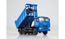 КамАЗ-6522 самосвал синий, масштабная модель, Автоистория (АИСТ), scale43