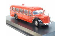 Автобус Mercedes-Benz Bus O6600 Feuerwehr Solingen, масштабная модель, Schuco, scale43