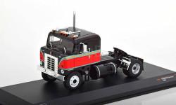 Kenworth Bullnose седельный тягач черный с красным IXO, масштабная модель, IXO грузовики (серии TRU), 1:43, 1/43