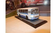 С РУБЛЯ!!! - Автобус ЛАЗ-695Н белый с синими полосами КБ, масштабная модель, Classicbus, 1:43, 1/43