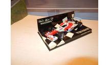 F1 Болид Формулы 1 - Panasonic Toyota Racing, масштабная модель, 1:43, 1/43, Minichamps