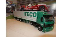 МАЗ-5440 с полуприцепом МАЗ-9758 ITECO, масштабная модель, Автоистория (АИСТ), 1:43, 1/43