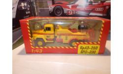 С РУБЛЯ!!! - КрАЗ-260 БРО-200 жёлтый, масштабная модель, Наш Автопром, 1:43, 1/43