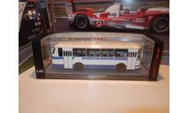 Автобус ЛАЗ-695Н бело-синий КБ, масштабная модель, Classicbus, scale43