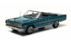 Plymouth Belvedere GTX Convertible 1967 из к/ф 'Увалень Томми' Greenlight 1:18 19005 БЕСПЛАТНАЯ доставка