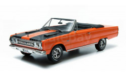 Plymouth Belvedere GTX Convertible 1967 из к/ф 'Приключения Джо Грязнули' Greenlight 1:18 19006 БЕСПЛАТНАЯ доставка