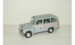 Джип Jeep Willys Rural Wagon Полиция Бразилия Police 1960 IXO Altaya Полицейские Машины Мира 1:43 БЕСПЛАТНАЯ доставка