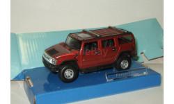 Хаммер Hummer H2 4x4 2003 Cararama Hongwell 1:43 Ранний БЕСПЛАТНАЯ доставка