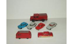 набор 7 моделей Trabant Wartburg Ifa Barkas Сделано в ГДР Espewe Modelle 1:87 БЕСПЛАТНАЯ доставка, масштабная модель, scale87
