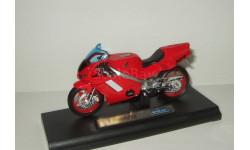 мотоцикл Хонда Honda NR 2001 Welly 1:18 БЕСПЛАТНАЯ доставка