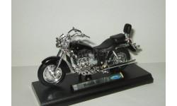 мотоцикл Хонда Honda F 6 C 2001 Welly 1:18 БЕСПЛАТНАЯ доставка