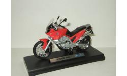 мотоцикл БМВ BMW F 650 1997 Welly 1:18 БЕСПЛАТНАЯ доставка