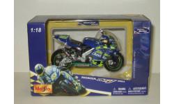 мотоцикл Хонда Honda RC211V 2003 Telefonica Movistar Maisto 1:18 БЕСПЛАТНАЯ доставка