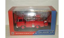 Hotchkiss PL60 Premier Secours Pompiers Guinard 1968 Eligor 1:43 101541 БЕСПЛАТНАЯ доставка, масштабная модель, scale43