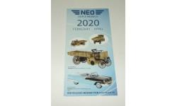 Каталог фирмы NEO Коллекционные модели 2020 год
