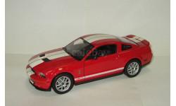 Форд Ford Mustang Shelby GT500 2007 Welly 1:24 БЕСПЛАТНАЯ доставка