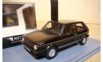 Фольксваген VW Volkswagen Golf 1 GTI 1981 Черный Neo 1:43 NEO45555 БЕСПЛАТНАЯ доставка, масштабная модель, Neo Scale Models, scale43