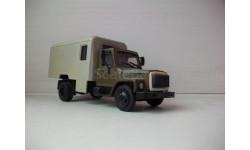 ГАЗ 3307, масштабная модель, Компаньон, scale43