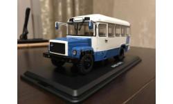4017 - Пригородный автобус КАвЗ-3976 (бело-голубой), масштабная модель, Start Scale Models (SSM), scale43