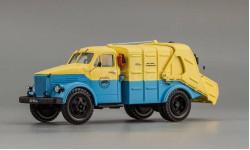 Горьковский автомобиль 51, автомобиль для уборки мусора М-93, масштабная модель, СарЛаб, scale43, ГАЗ