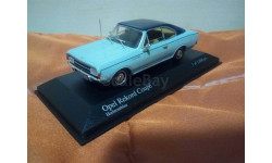 Opel Rekord C Coupe, масштабная модель, Minichamps, scale43