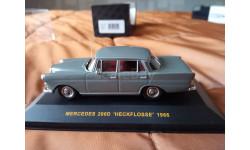 Mercedes 200D 1966 г, масштабная модель, Mercedes-Benz, IXO Museum (серия MUS), 1:43, 1/43
