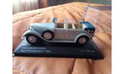 Mercedes - Benz TUP 770 cabriolet F 1930, масштабная модель, Mercedes-Benz, WhiteBox, 1:43, 1/43