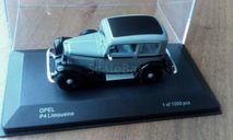 Opel P4 Limousine, масштабная модель, scale43, WhiteBox