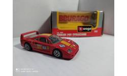Ferrari F40 Evoluzione, масштабная модель, Bburago, scale43