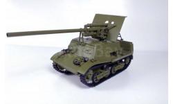 ЗИС-30 самоходная артиллерийская установка (АтомБур), масштабные модели бронетехники, scale43