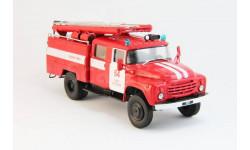 Грузовики №03, ЗИЛ-130 Пожарная Автоцистерна (модель + журнал)