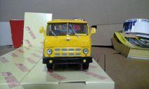 МАЗ-514 бортовой, желтый/голубой, масштабная модель, 1:43, 1/43, Наш Автопром