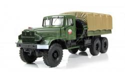 КрАЗ-214В балластный тягач , зелёный