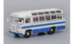 ПАЗ- 672 Бело-синий, масштабная модель, 1:43, 1/43, Classicbus