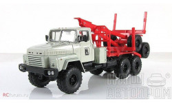 КрАЗ-6437 лесовоз